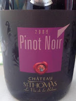Produtos da Château ST-Thomas - Vinho libanês