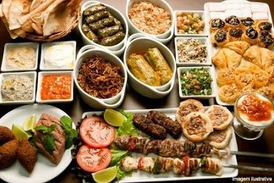 Culinária árabe - As maravilhas do mundo árabe