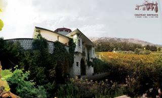 Château Kefraya -Vinholibanês