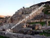 As ruínas do templo de Eshmun - Sidon