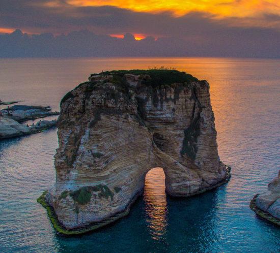 Raouche, Beirute - As maravilhas do mundo árabe